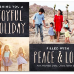 Last Chance: Use 40% off Coupon Code at TinyPrints.com for Your Holiday Cards!