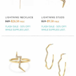 50% off Flash Sale at Stella & Dot