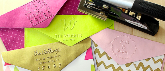 These Are So Pretty:  Personalized Embossers (Deal Alert: 53% Off)