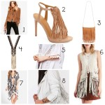 Spring Fashion Trend:  Fringe!
