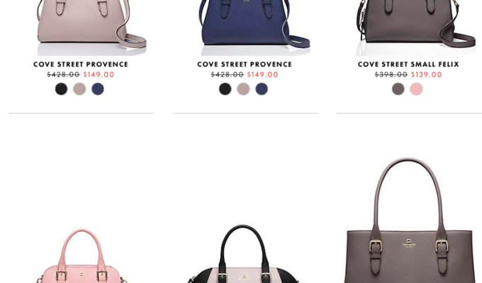 kate spade Surprise Sale: Up to 75% Off