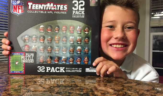 TeenyMates: The Perfect Holiday Gift For Your Little NFL Fan