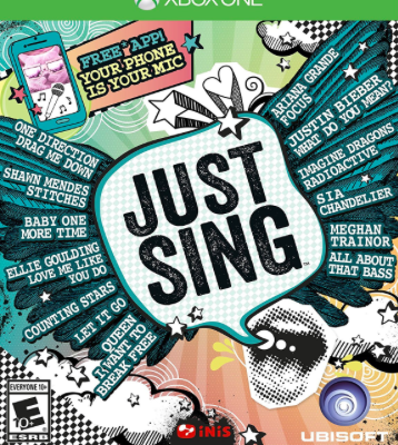 Your Next Holiday Party:  Not Complete Without Just Sing {Xbox One/Playstation 4}