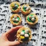 Easy Rice Krispie Cupcakes for Easter