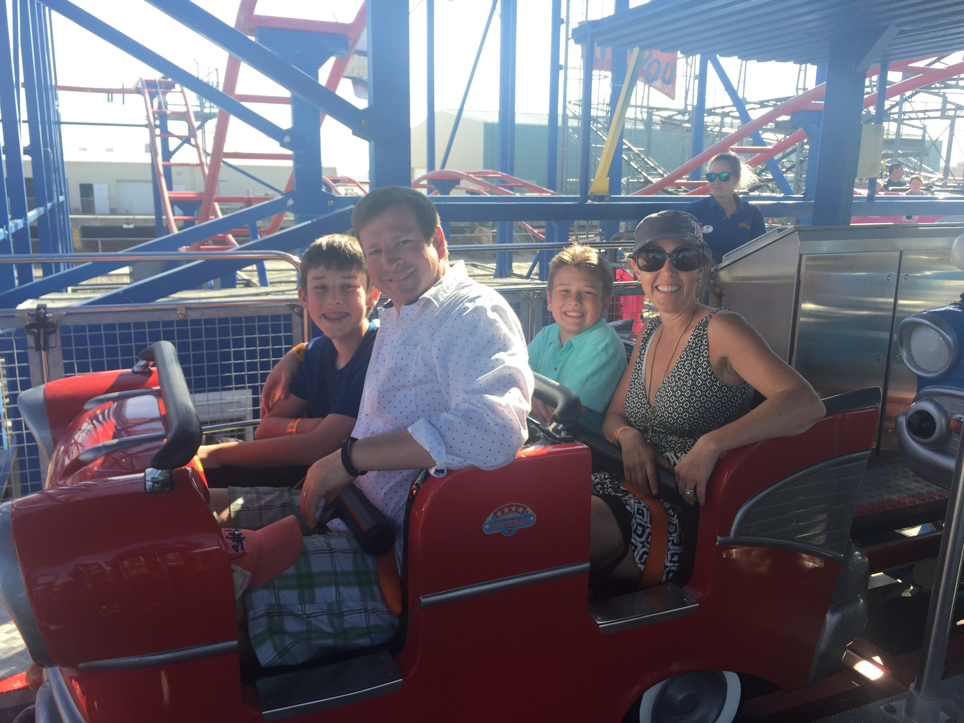 Travel review our crazy fun weekend at morey s piers in for Morey s fish