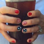 Quick, Cute & Easy Design for 4th of July Nails