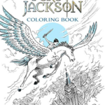 For your Mythology Fan: Percy Jackson Coloring Book