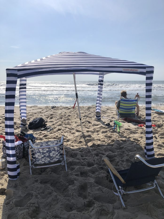 meet aef85 71a17 Staying Cool in our Cool Cabana on the Beach | Mommies With ...