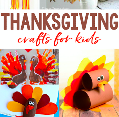 The Best of Thanksgiving: Turkey Thaw Times, Thanksgiving Crafts for Kids & DIY Placecards