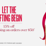 Early Black Friday Sale: 15% Off and Free Shipping on Orders of $50 at Beautycounter